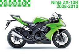 Kawasaki Ninja ZX-10R (ZX1000E) Fairings 2008-2010