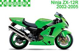 Kawasaki Ninja ZX-12R Fairings 2002-2005