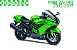 Kawasaki Ninja ZX-14R Fairings (ZX-14R) 2012-2017
