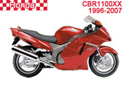 Honda CBR1100XX Fairings 1996-2007