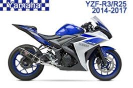 Yamaha YZF-R3/R25 Fairings 2014-2017
