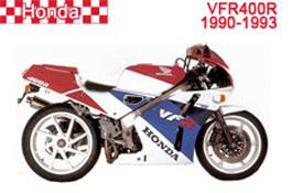 Honda VFR400R NC30 Fairings 1990-1993