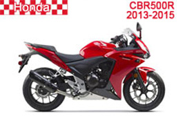 Honda CBR500R Fairings 2013-2015