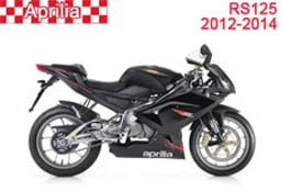Aprilia RS125 Fairings 2012-2014