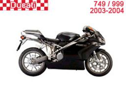 Ducati 749 / 999 Fairings 2003-2004