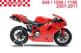 Ducati 848 / 1098 / 1198 Fairings 2007-2011