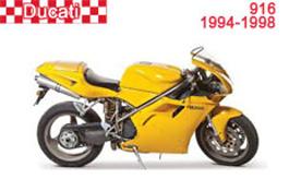 Ducati 916 Fairings 1994-1998