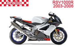Aprilia RSV 1000R Fairings 2004-2009