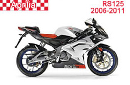 Aprilia RS125 Fairings 2006-2011