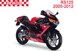 Aprilia RS125 Fairings 2000-2005